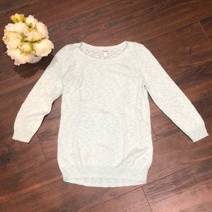 Old Navy Mint Sweater- size Small